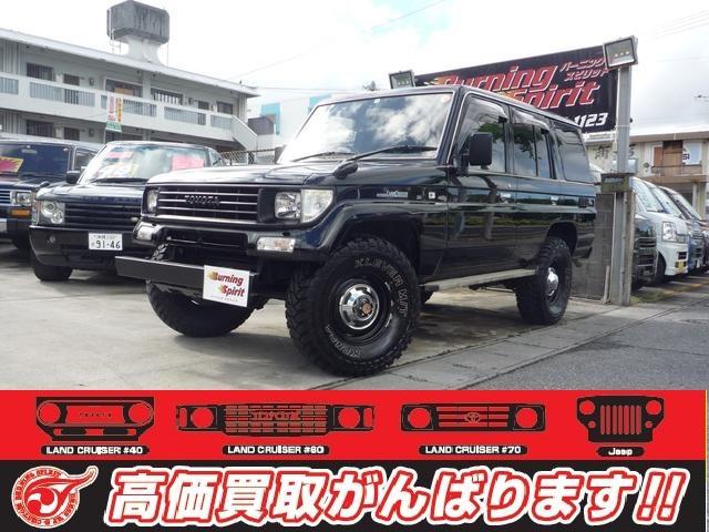沖縄の中古車 トヨタ ランドクルーザープラド 車両価格 159万円 リ済別 平成6年 28.0万km ブラック