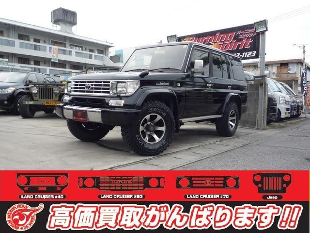 沖縄の中古車 トヨタ ランドクルーザープラド 車両価格 145万円 リ済別 平成6年 26.0万km ブラック