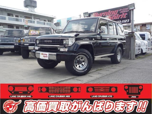 沖縄県の中古車ならランドクルーザープラド 5速 カスタム