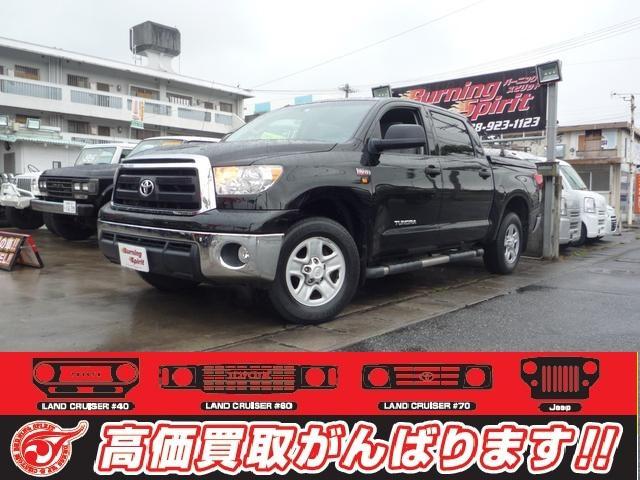 沖縄の中古車 米国トヨタ タンドラ 車両価格 ASK リ済別 2012(平成24)年 2.5万km ブラック
