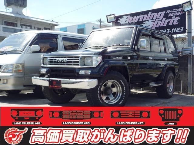 沖縄の中古車 トヨタ ランドクルーザープラド 車両価格 129万円 リ済別 1995(平成7)年 31.0万km Dブラック