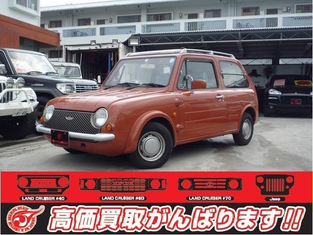 沖縄の中古車 日産 パオ 車両価格 69万円 リ済別 1989(平成1)年 17.8万km ブラウン