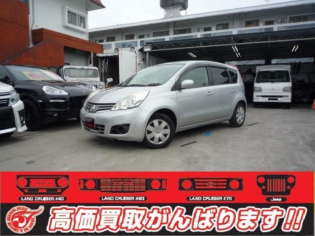 沖縄の中古車 日産 ノート 車両価格 22万円 リ済込 2011(平成23)年 12.0万km シルバーM