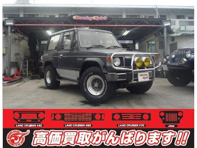 沖縄の中古車 三菱 パジェロ 車両価格 77万円 リ済別 1990(平成2)年 16.5万km グレー