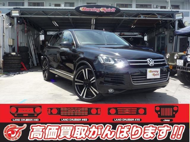 沖縄の中古車 フォルクスワーゲン トゥアレグ 車両価格 ASK リ済別 2011(平成23)年 6.0万km ブラック