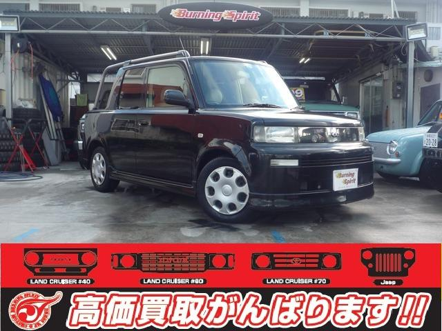 沖縄の中古車 トヨタ bB 車両価格 79万円 リ済別 2001(平成13)年 7.0万km ブラック
