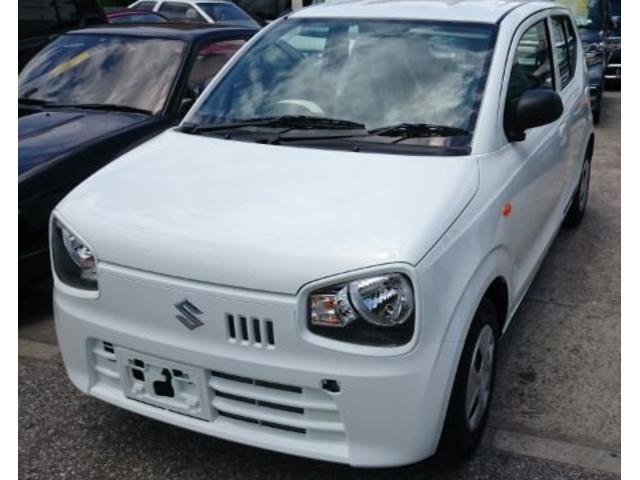 沖縄の中古車 スズキ アルト 車両価格 83万円 リ済込 新車  ホワイト