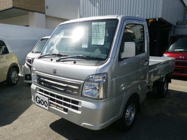 沖縄県の中古車ならキャリイトラック KCスペシャル 4WD AT車 キーレス パワウインドウ