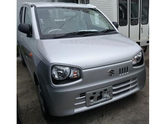 沖縄の中古車 スズキ アルト 車両価格 86万円 リ済込 新車  シルバー