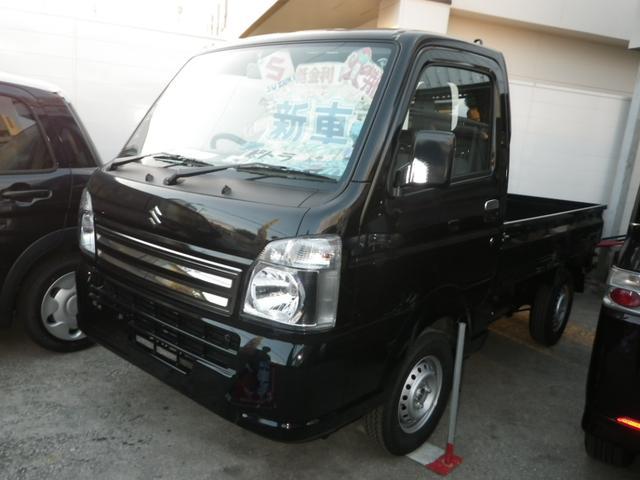 沖縄の中古車 スズキ キャリイトラック 車両価格 104万円 リ済込 新車  ブラック