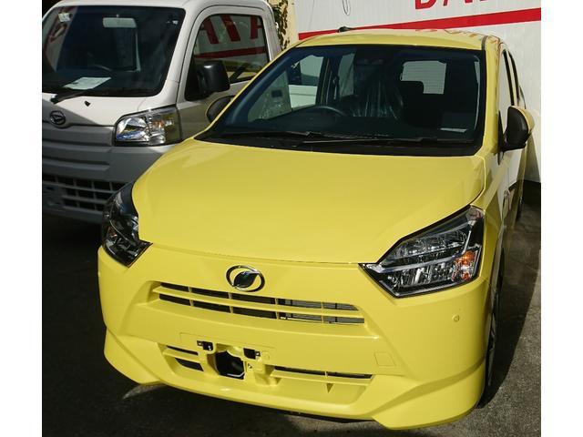 沖縄の中古車 ダイハツ ミライース 車両価格 101万円 リ済込 新車  イエロー