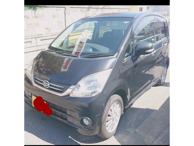 沖縄の中古車 ダイハツ ムーヴ 車両価格 26万円 リ済込 平成22年 7.2万km ブラックM