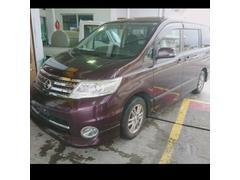 沖縄の中古車 日産 セレナ 車両価格 46万円 リ済込 平成21年 12.3万K ダークパープルM