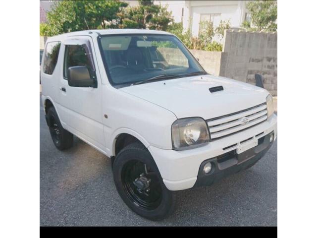 沖縄の中古車 スズキ ジムニー 車両価格 30万円 リ済込 平成15年 14.9万km ホワイト