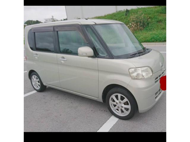 沖縄の中古車 ダイハツ タント 車両価格 32万円 リ済込 平成22年 11.9万km ゴールドM