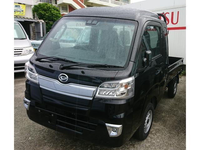 沖縄の中古車 ダイハツ ハイゼットトラック 車両価格 110万円 リ済込 新車  ブラック