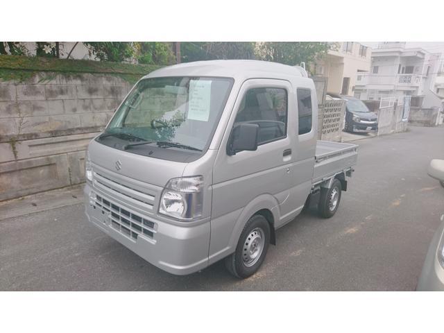 沖縄の中古車 スズキ スーパーキャリイ 車両価格 121万円 リ済込 新車  シルバーM