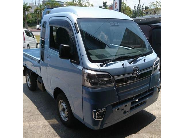 沖縄県うるま市の中古車ならハイゼットトラック ジャンボ 4AT 4WD SAIIIt LEDヘッドライト 60歳から64歳迄の方更にお安いキャンペーン中です詳しくはお電話下さい♪