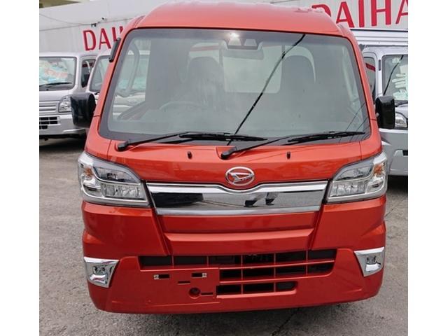 沖縄県の中古車ならハイゼットトラック ジャンボSAIIIt LEDヘッドライト オートマ