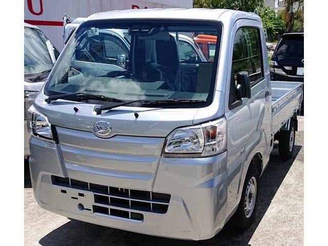 沖縄の中古車 ダイハツ ハイゼットトラック 車両価格 116万円 リ済込 2019年 6km シルバー