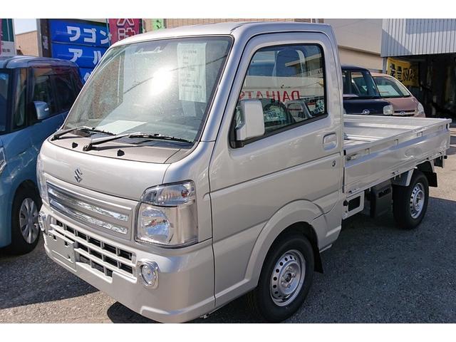 沖縄県の中古車ならキャリイトラック KX  セーフティーサポート 4WD