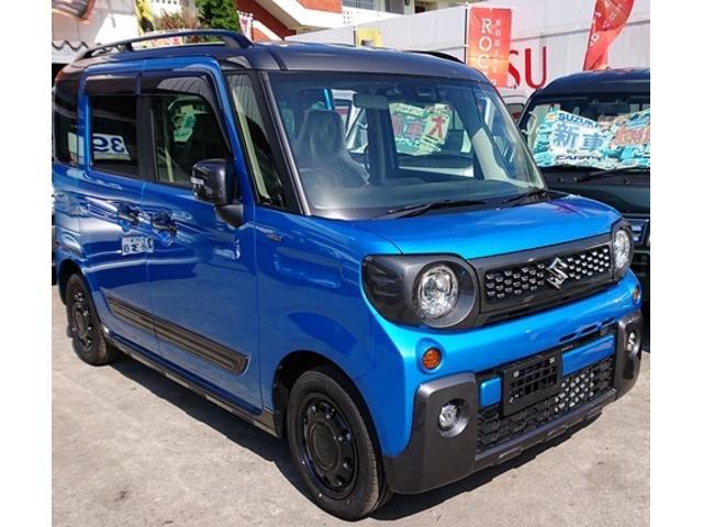 沖縄県の中古車ならスペーシアギア ハイブリッドXZ