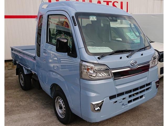 沖縄の中古車 ダイハツ ハイゼットトラック 車両価格 118万円 リ済込 2020(令和2)年 6km ライトブルー