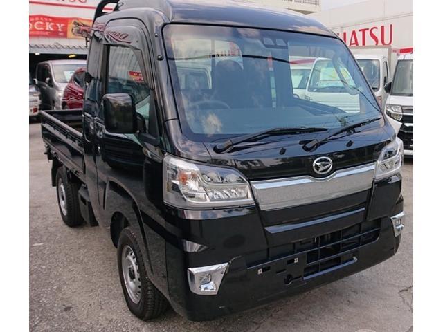 沖縄の中古車 ダイハツ ハイゼットトラック 車両価格 118万円 リ済込 2020(令和2)年 24km ブラック
