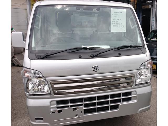 沖縄の中古車 スズキ キャリイトラック 車両価格 116万円 リ済込 2020(令和2)年 4km シルバー