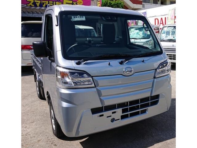 沖縄の中古車 ダイハツ ハイゼットトラック 車両価格 102万円 リ済込 2020(令和2)年 6km シルバー