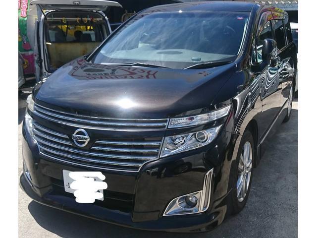 沖縄の中古車 日産 エルグランド 車両価格 87万円 リ済込 2011(平成23)年 10.8万km ブラックM