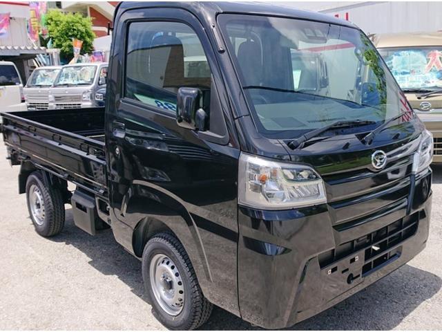 沖縄の中古車 ダイハツ ハイゼットトラック 車両価格 100万円 リ済込 新車  ブラックM