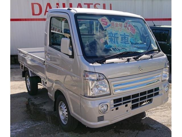 沖縄の中古車 スズキ キャリイトラック 車両価格 111万円 リ済込 新車  シルバー