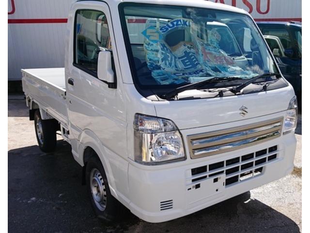沖縄の中古車 スズキ キャリイトラック 車両価格 110万円 リ済込 新車  ホワイト