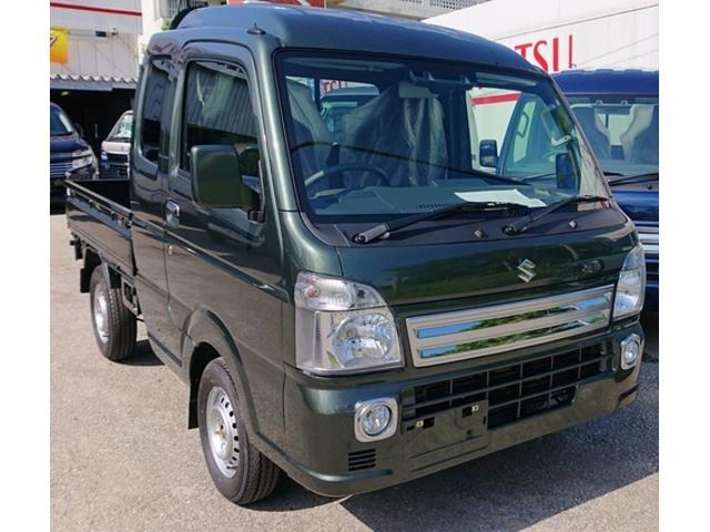 沖縄県の中古車ならスーパーキャリイ X 格安にてアゲトラ制作可能です♪4WD♪3AT♪
