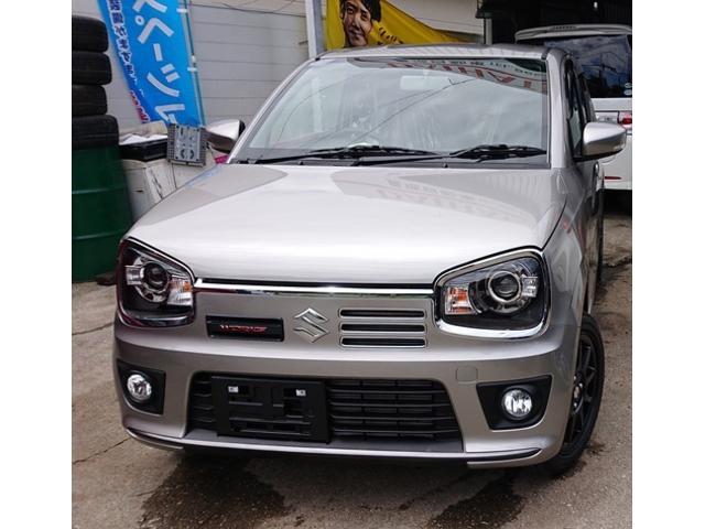 沖縄県の中古車ならアルトワークス ベースグレード レカロシート KYBショックアフソーバー