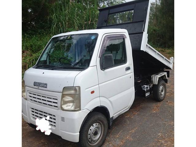 沖縄県の中古車ならキャリイトラック ダンプ