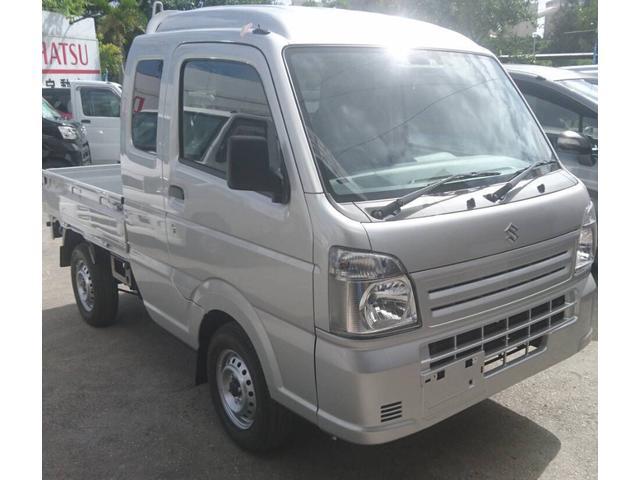 沖縄の中古車 スズキ キャリイトラック 車両価格 118万円 リ済込 2020(令和2)年 4km グレーM