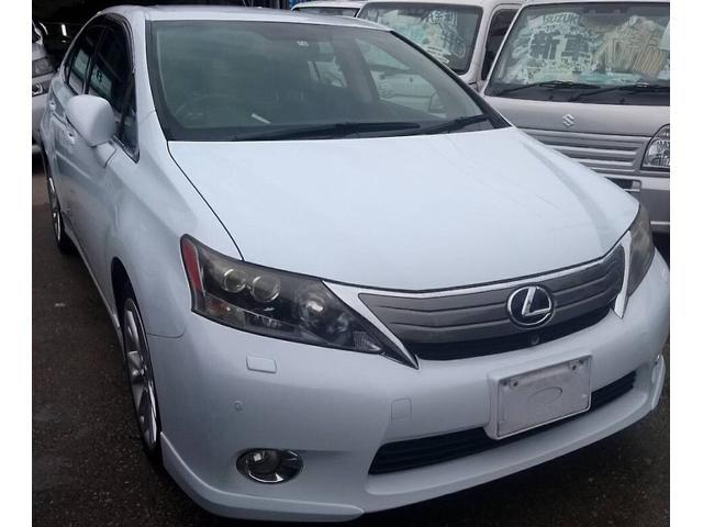 沖縄の中古車 レクサス HS 車両価格 78万円 リ済込 2010(平成22)年 13.7万km パールホワイト