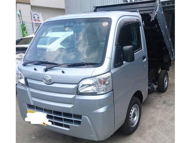沖縄県の中古車ならハイゼットトラック ローダンプ SA3t安心のスマートアシスト付きです♪デフロック付きHILO4WD♪