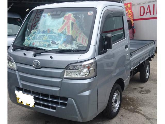 沖縄の中古車 ダイハツ ハイゼットトラック 車両価格 110万円 リ済込 新車  ライトグレーM