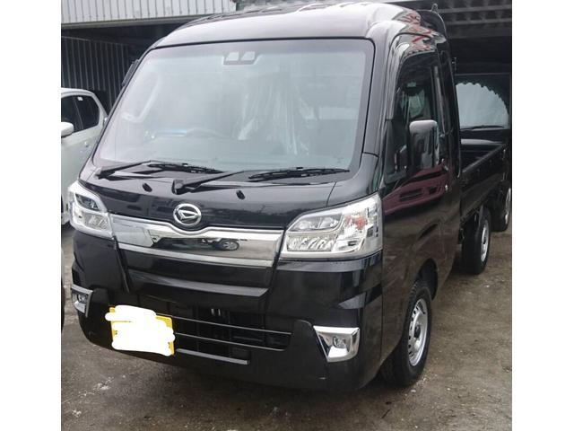 沖縄県の中古車ならハイゼットトラック ジャンボSAIIIt 65歳以上の方更にお安くなります♪デフロック付き♪作業灯付き♪HILO切り替え4WD安心のブレーキアシスト♪