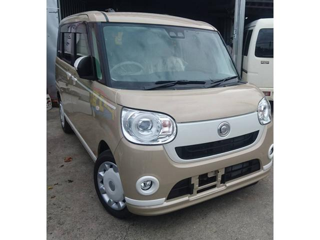 沖縄県の中古車ならムーヴキャンバス GホワイトアクセントVS SAIII