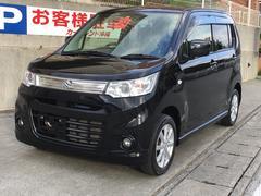 沖縄の中古車 スズキ ワゴンRスティングレー 車両価格 79万円 リ済込 平成24年 4.5万K ブラックM