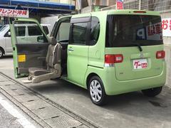 沖縄の中古車 ダイハツ タント 車両価格 78万円 リ済込 平成25年 3.3万K Lグリーン
