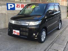 沖縄の中古車 スズキ ワゴンRスティングレー 車両価格 59万円 リ済込 平成21年 2.9万K ブラックM