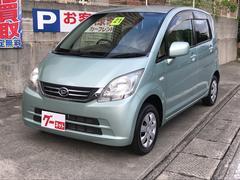 沖縄の中古車 ダイハツ ムーヴ 車両価格 39万円 リ済込 平成21年 9.6万K LグリーンM