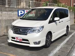 沖縄の中古車 日産 セレナ 車両価格 199万円 リ済込 平成26年 3.2万K パールホワイト