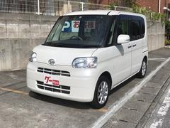 沖縄の中古車 ダイハツ タント 車両価格 59万円 リ済込 平成23年 7.3万K パールホワイト