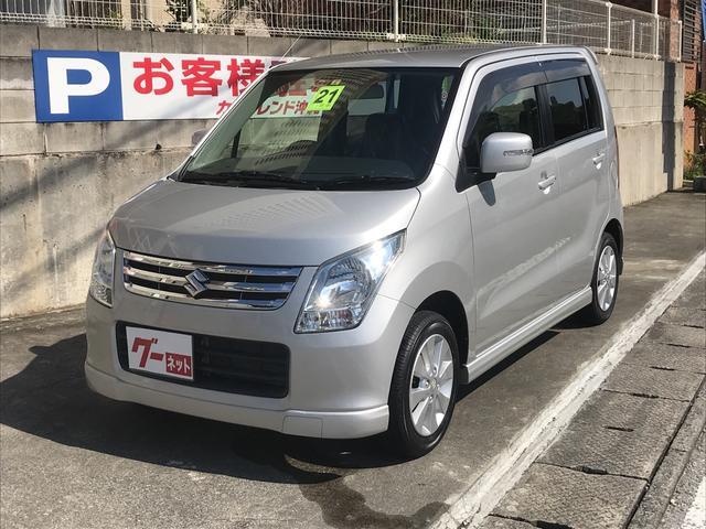 沖縄の中古車 スズキ ワゴンR 車両価格 55万円 リ済込 平成21年 6.0万km シルバー
